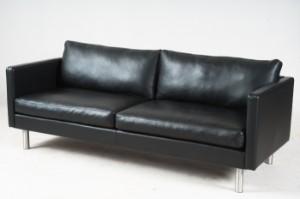 vare 3035139 3 sitzer sofa modell classic schwarzer. Black Bedroom Furniture Sets. Home Design Ideas