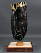 Hans Jørgen Hansen. Skulptur af granit
