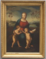 Gaetano Cannicei, kopi efter Raphael 1853