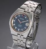Vintage Omega Constellation Electronic f300 Hz. men's watch, asymmetrical case, 1970's