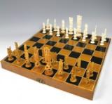 Indisches Schachspiel aus Mammutelfenbein (33)