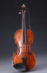 Tysk violin med reparaturnote fra Guldbrand Enger, 1700-tallet (3)