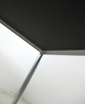 rolf hay stort spisebord konferencebord model hay desk i aluminium og linoleum fremstillet. Black Bedroom Furniture Sets. Home Design Ideas