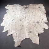 Kuhfell silberfarben, Frankreich, 300 x 230 cm