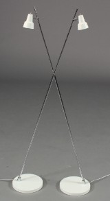 Par Lampekonsulenten/Nordlux Conic gulvlampe, hvid (2)