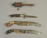 Orientalske knive. (4)