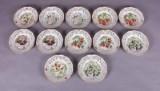 Bavaria fra Schumann Arzberg. Samling platter af porcelæn (12)