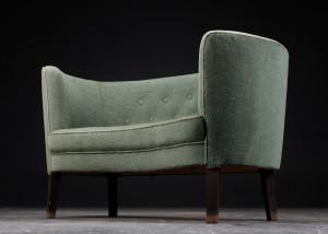 lille sofa Slutpris för Lille sofa, 1940erne, dansk snedkermester lille sofa