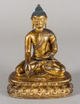 Buddha Sakyamuni. Tibet. 15th century