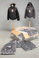 Vinterjakke til mænd med strikærmer. Model LIST. (18)