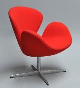 Arne Jacobsen. Svanen. Lounge stol, model 3320. Årgang 2017