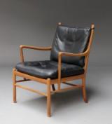 Ole Wanscher. Lænestol, model PJ-149 'Colonial Chair', valnød