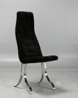 'Askö' chair, and Gallery, mink upholstery