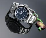 Rolex Submariner 'No Date'. Men's watch, steel, with black dial, c. 1997