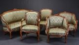 Salon møblement, rokokoform (5)