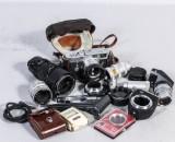 Kamera, Leica dbp med tillbehör (11)