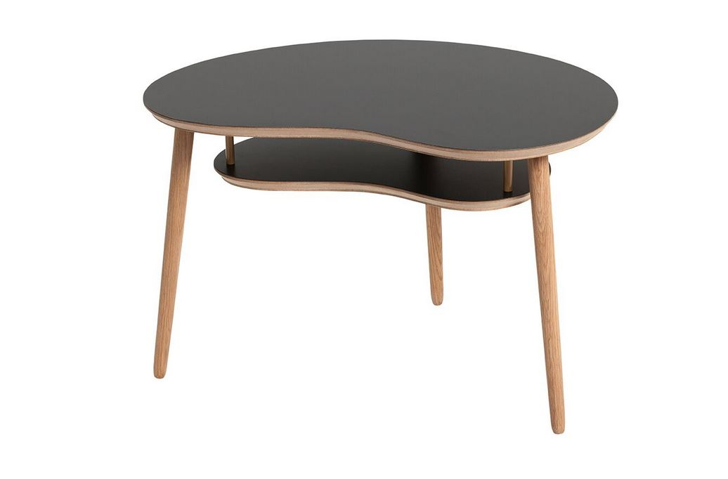 Sofabord, design Karsten Lauritsen, model Bønnebord Til