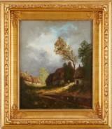 Oljemålning 1800-tal