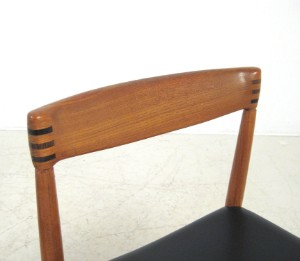 lot 4509337 h w klein esstisch st hle in teak f r. Black Bedroom Furniture Sets. Home Design Ideas
