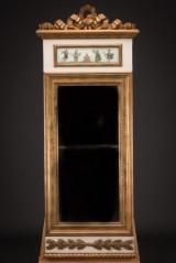 Sengustaviansk spejl, Sverige ca. 1800