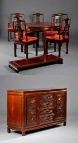 Kinesisk spisestue, 1900-tallets 2. halvdel (12)