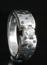 18kt. diamond ring approx. 0.60ct