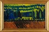 Manfred Flyckt oljemålning