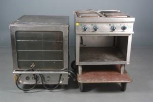 Slutpris för Kombineret bålplads/grill/ovn samt røgeovn.(2)