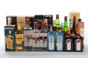 Samling af Whisky og Gin (26) - Dk, Herlev, Dynamovej - Samling af Whisky og Gin (26) - Dk, Herlev, Dynamovej