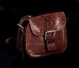 Mulberry, handväska, i präglat skinn 'Congo leather'