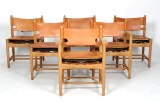 Børge Mogensen, a set of six Hunt dining chairs, model 3237 and 3238 (6)