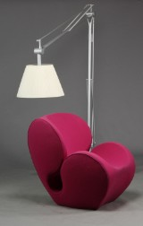 Phillipe Starck / Flos. A large floor lamp, model Superarchimoon,