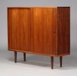 H. J. Wegner. Sideboard, rosewood, rare version