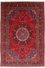 Sabzevar. Orientalsk håndknyttet tæppe, 292x192 cm.