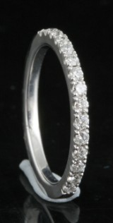 Diamond ring in 18kt approx. 0.20ct
