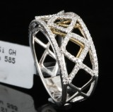 14kt. Diamond ring, 0.43ct.