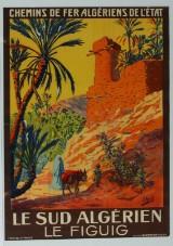 Édouard Herzig, 'Le Sud Algérien le Figuig', Vintage plakat