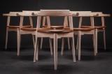 Hans J. Wegner. Six chairs, model PP 58/3 (6)