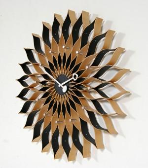 george nelson vitra uhr 39 sunflower clock 39. Black Bedroom Furniture Sets. Home Design Ideas