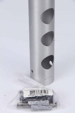Lækker Rosendahl. Vinreol og magasinholder, børstet aluminium (2 BG-21