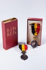 Zwei Orden Belgien Bekwaamheid Zedelijkheid Habilete Moralite, 1. und 2. Klasse