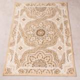 Teppich, Indien, Design 'La Romantica Medaillon' von Jalal, 122 x 183 cm