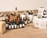 Diverse modne vine. (ca. 180 flasker)
