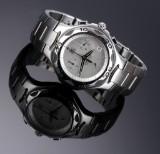 Tag Heuer 'Professional'. Herrechronograf i stål med sølvfarvet skive med dato, 2000'erne