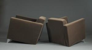 Schreibtisch Len philippe starck pair of easy chairs len niggelman 2 lauritz com