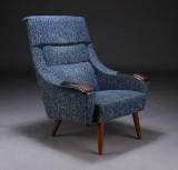 Dansk møbelproducent, lænestol, teaktræ