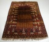 Afghansk tæppe, 292x212 cm.