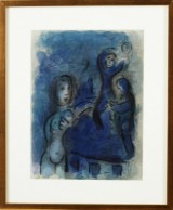 Marc Chagall litografi