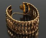 Italiensk armbånd, 18 kt guld