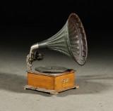 Trattgrammofon, Polyphon, 1900-talets början